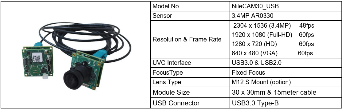 USB3 0/2 0 Camera Module – Welcome to CYTHUS Homepage